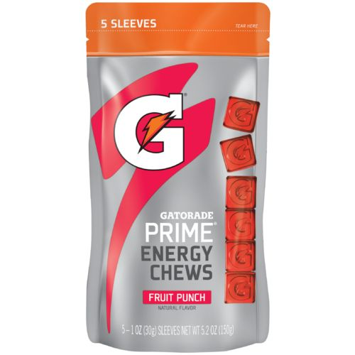 Display product reviews for Gatorade Prime Chews
