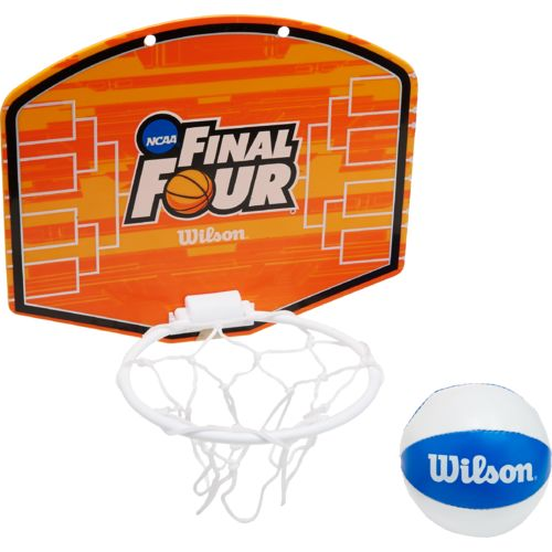 Wilson NCAA Mini Hoop with Plush Basketball Kit
