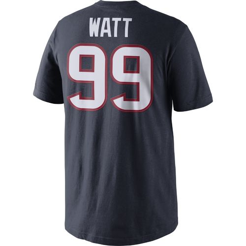 Nike Men's Houston Texans J.J. Watt 99 Player Pride T-shirt - view number 2