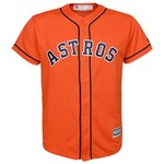 MLB Boys' Houston Astros Jose Altuve #27 Cool Base Alternate Replica Jersey - view number 2