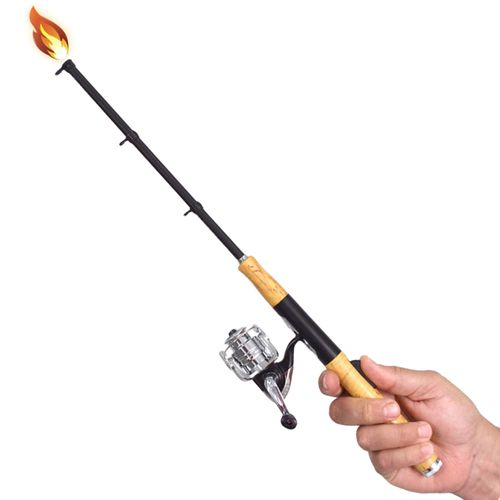 gibson open face fishing pole utility lighter academy