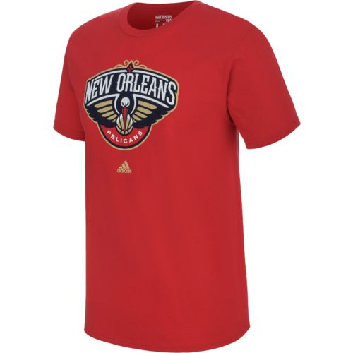 adidas™ Men's New Orleans Pelicans Full Primary Logo T-shirt