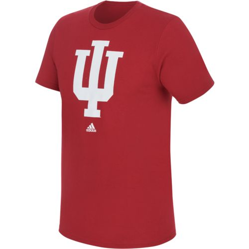 adidas™ Men's Indiana University School Logo T-shirt