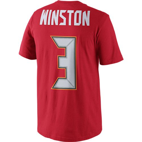 Nike Men's Tampa Bay Buccaneers Jameis Winston #3 T-shirt