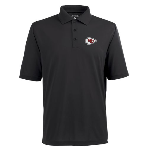 Antigua Men's Kansas City Chiefs Piqué Xtra-Lite Polo Shirt