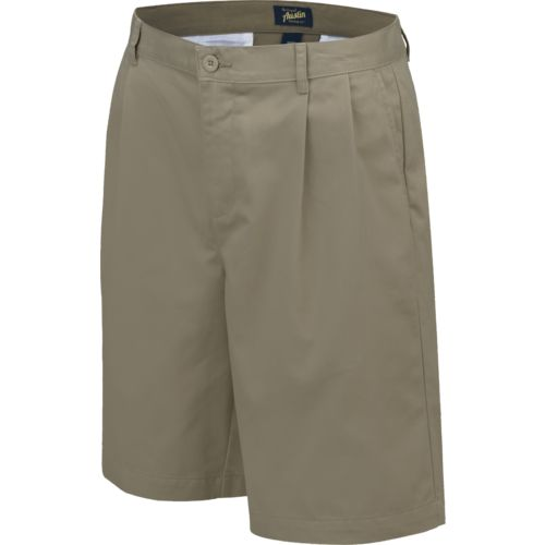 Austin Trading Co. Men's Uniform Pleated Twill Short