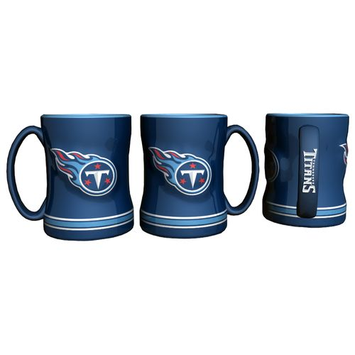 Boelter Brands Tennessee Titans 14 oz. Relief-Style Coffee Mug