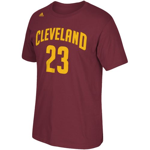 adidas™ Men's Cleveland Cavaliers LeBron James #23 High Density T-shirt