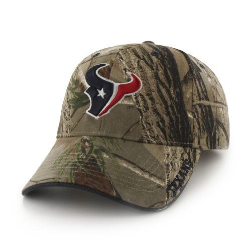'47 Adults' Houston Texans Realtree Frost MVP Cap