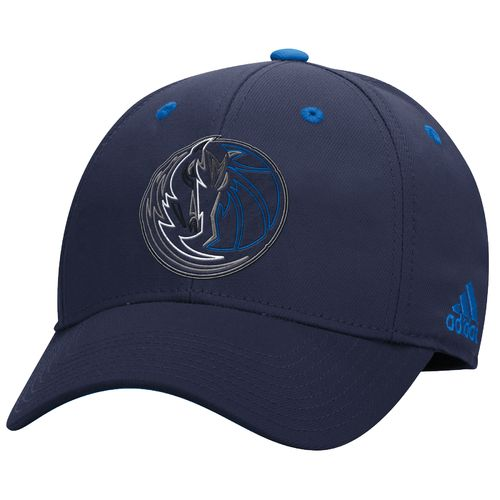 adidas Men's Dallas Mavericks Team Nation Structured Flex Cap