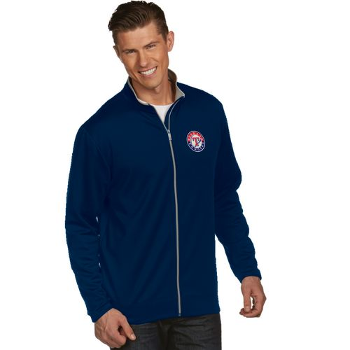 Antigua Men's Texas Rangers Leader Jacket