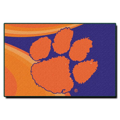 The Northwest Company Clemson University Acrylic Tufted Rug