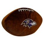 The Northwest Company Baltimore Ravens Football Shaped Plush Pillow