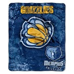 The Northwest Company Memphis Grizzlies Dropdown Raschel Throw
