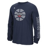 adidas Men's New Orleans Pelicans Tip Off Cager Go To Long Sleeve T-shirt