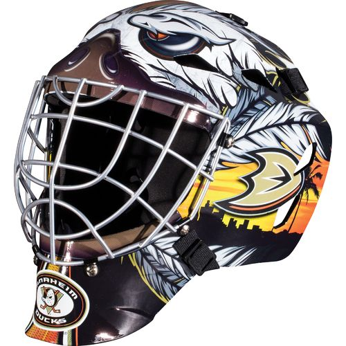 Franklin Boys' Anaheim Ducks GFM 1500 Goalie Face Mask