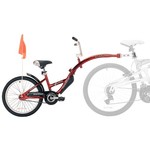 WeeRide Kids' Pro-Pilot Tow-Behind Cycling Trainer
