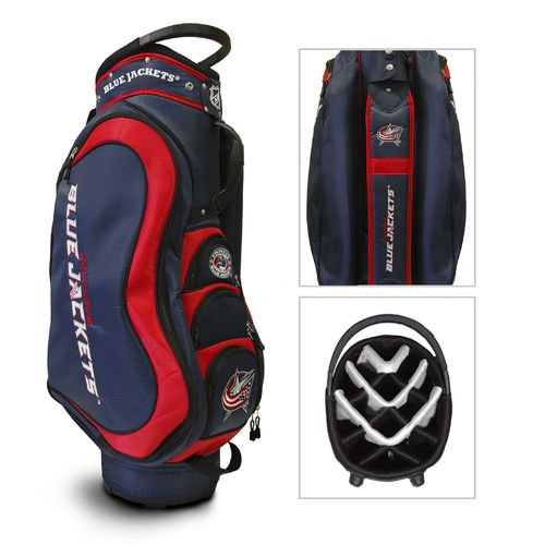 Team Golf Columbus Blue Jackets 14-Way Cart Golf Bag