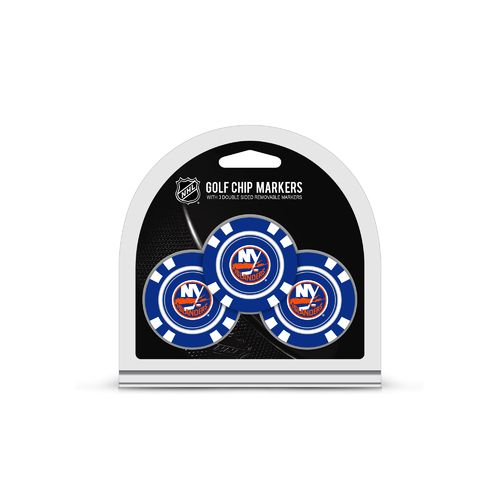 Team Golf New York Islanders Poker Chip and Golf Ball Marker Set - view number 1