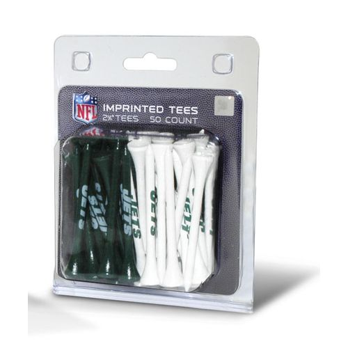 Team Golf New York Jets Golf Tees 50-Pack