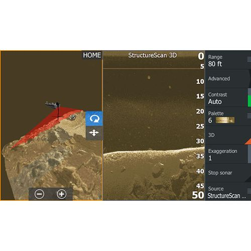 Lowrance StructureScan 3-D Module - view number 2