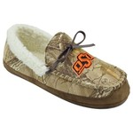 Campus Footnotes Men's Oklahoma State University Realtree Camo Microfiber Moccasins