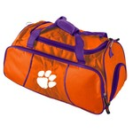 Logo Clemson University Athletic Duffel Bag