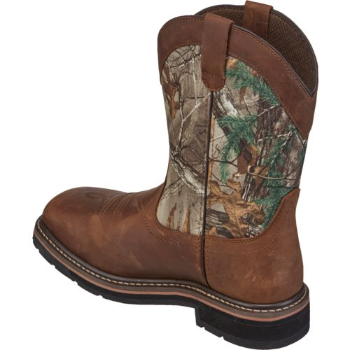 Brazos Men's Bandero NS Realtree Xtra Wellington Work Boots - view number 3