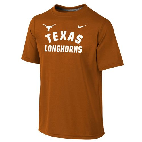 Nike™ Boys' University of Texas Dri-FIT Legend Short Sleeve T-shirt