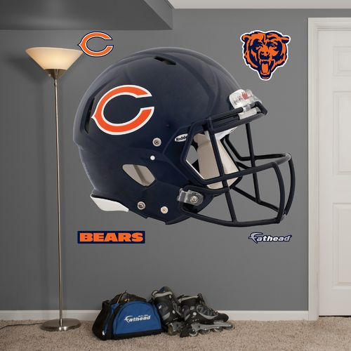 Fathead Chicago Bears Real Big Helmet Decal