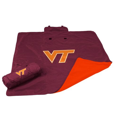 Logo Virginia Tech All-Weather Blanket
