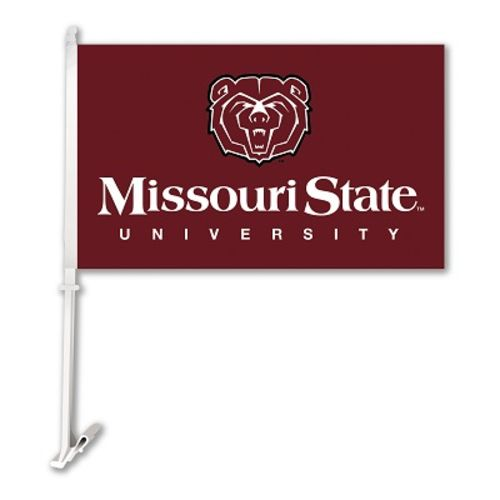 BSI Missouri State University 2-Sided Car Flag