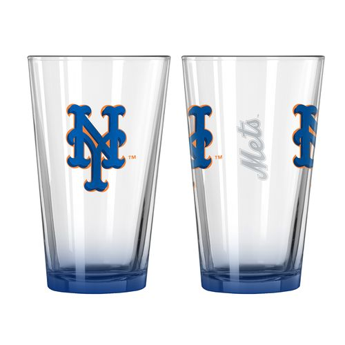 Boelter Brands New York Mets Elite 16 oz. Pint Glasses 2-Pack