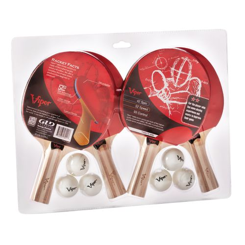 Viper 4-Racket Table Tennis Set - view number 2