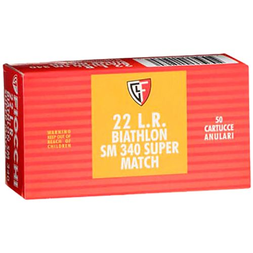 Fiocchi Super Match .22 LR 40-Grain Round Nose Rimfire Ammunition - view number 1