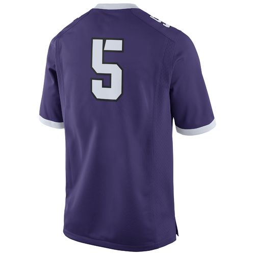 Nike Men's Texas Christian University Game Jersey - view number 2