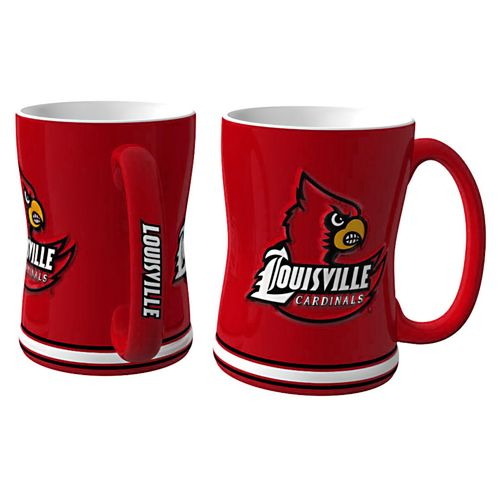 Boelter Brands University of Louisville 14 oz. Relief Mugs 2-Pack - view number 1