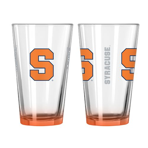 Boelter Brands Syracuse University Elite 16 oz. Pint Glasses 2-Pack