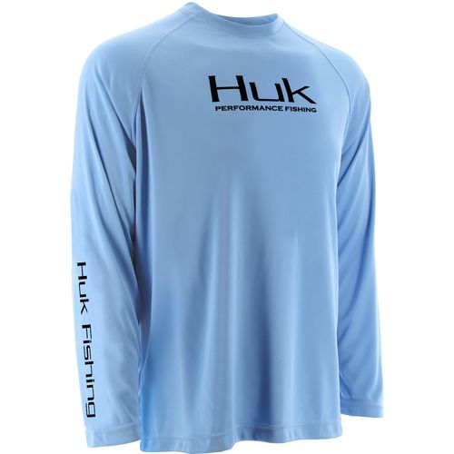 Huk Men's Performance Mock Neck Long Raglan Sleeve
