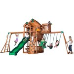 Backyard Discovery™ Skyfort II Wooden Swing Set - view number 1