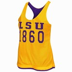 Colosseum Athletics Women's Louisiana State University Triple Crown Reversible Tank Top