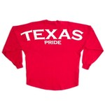 Above Wings™ Adults' Wing Back™ Texas Pride Long Sleeve Shirt