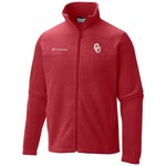 Columbia Sportswear Men's University of Oklahoma Flanker™ II Full Zip Fleece - view number 1