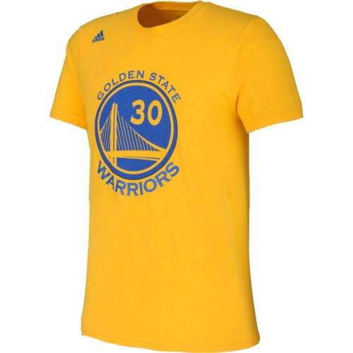 adidas Men's Golden State Warriors Stephen Curry No. 30 High Density T-shirt