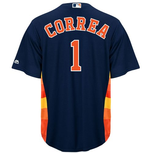 Majestic Men's Houston Astros Carlos Correa #1 Replica Jersey