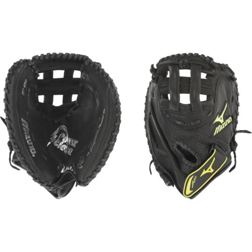 "Mizuno Youth 32.5"" Fast-Pitch Softball Catcher's Mitt Left-handed Throw"