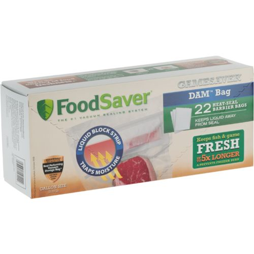 FoodSaver® GameSaver® DAM® Heat-Seal Gallon Bags 22-Pack
