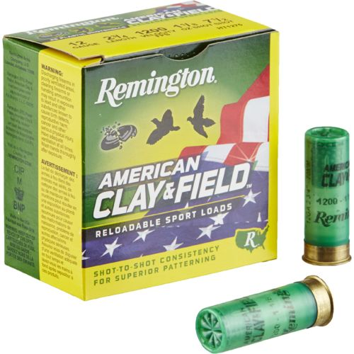 Remington American Clay & Field 12 Gauge Reloadable Sport Loads - view number 1