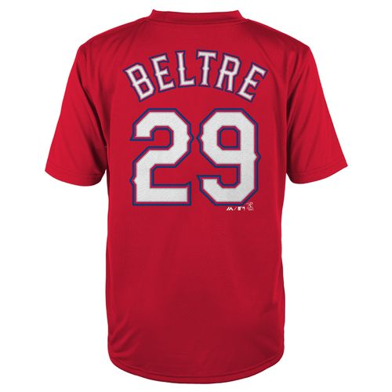 Majestic Boys' Texas Rangers Adrian Beltré #29 T-shirt