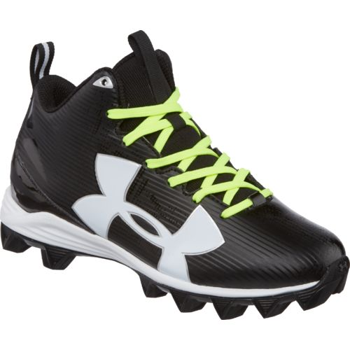 Under Armour Boys' Crusher RM Jr. Wide Football Cleats - view number 2